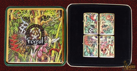 zippo box Mysterie forest